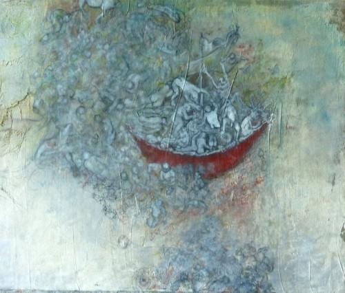 galerie,chantal mélanson,arche de noé,peinture,art contemporain,tarjei vasaas,yo